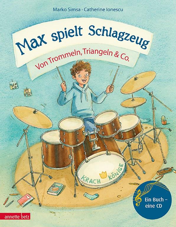 Interaktive  Lesung: Max spielt Schlagzeug © Verlag Anette Betz