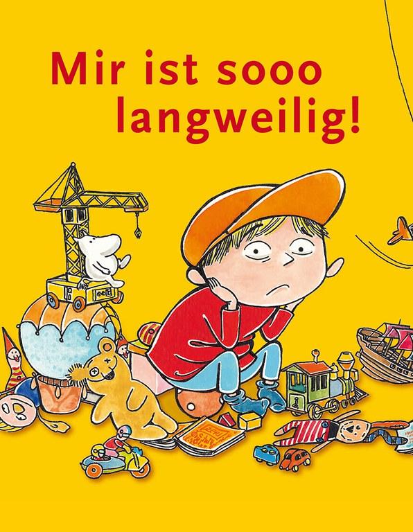 Lesung: Mir ist sooo langweilig © Verlag Tulipan
