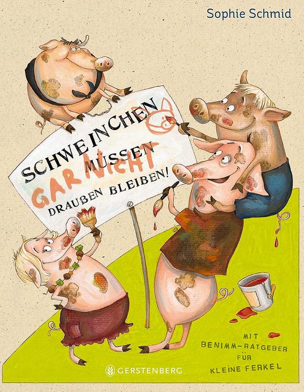 Lesung: Schweinchen müssen draußen bleiben © Verlag Gerstenberg