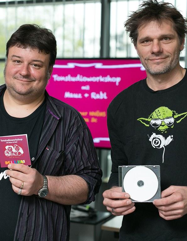 Workshop: Im Tonstudio © NÖ Museum Betriebs GmbH, Foto: Daniel Hinterramskogler