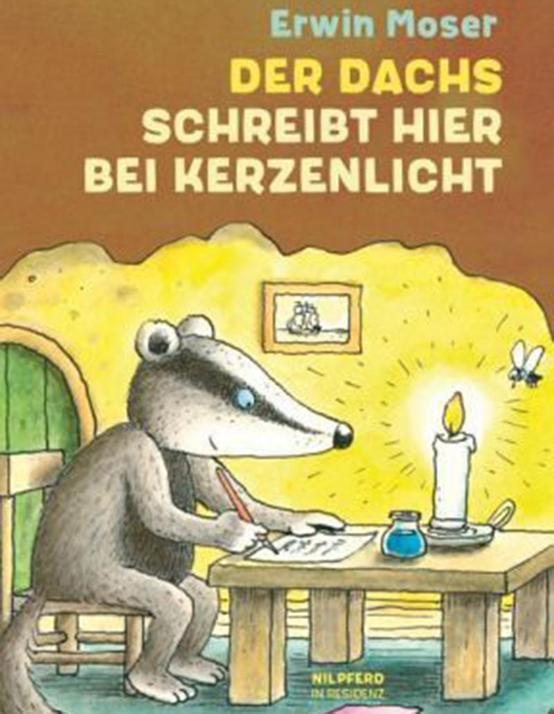 Bilderbuchkino: Der Dachs schreibt hier bei Kerzenlicht © G&G Verlag