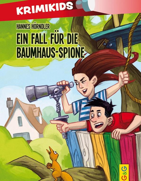 Lesung: Krimikids - Ein Fall für die Baumhausspione © G&G Verlag