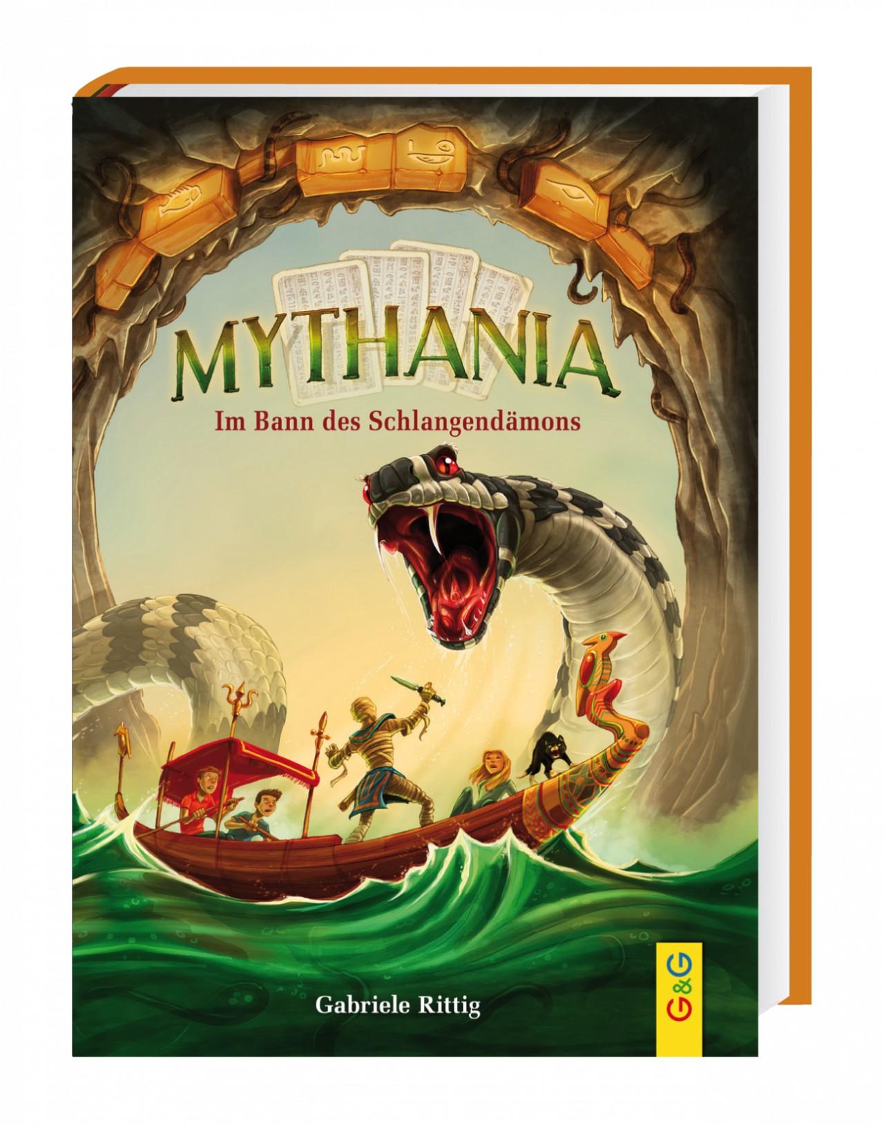 Lesung: Mythania - Im Bann des Schlangendämons © Verlag Ueberreuter