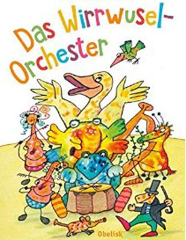 Lesung: Das Wirrwusel-Orchester © Nilpferd bei G&G