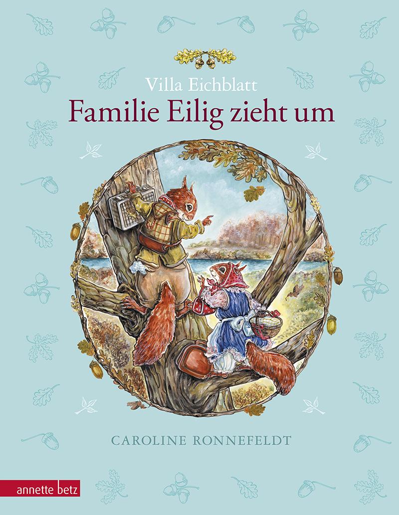Lesung: Familie Eilig zieht um © Annette Betz