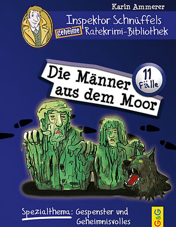 Lesung: Inspektor Schnüffels geheim Ratekrimi-Bibliothek © G&G Verlag