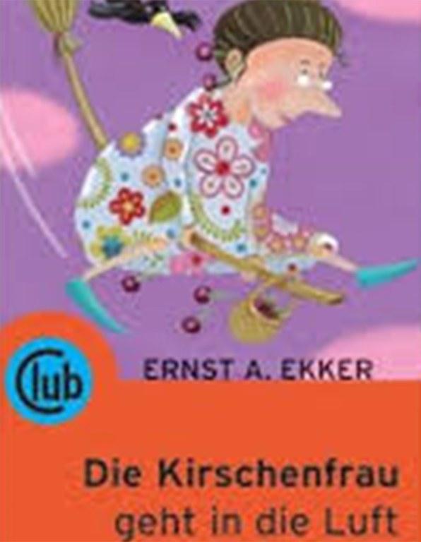 """Lesung: E. A. Ekker """"Die Kirschenfrau geht in die Luft"""" © club"""