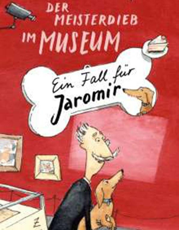 Lesung: Der Meisterdieb im Museum. Ein Fall für Jaromir © Obelisk
