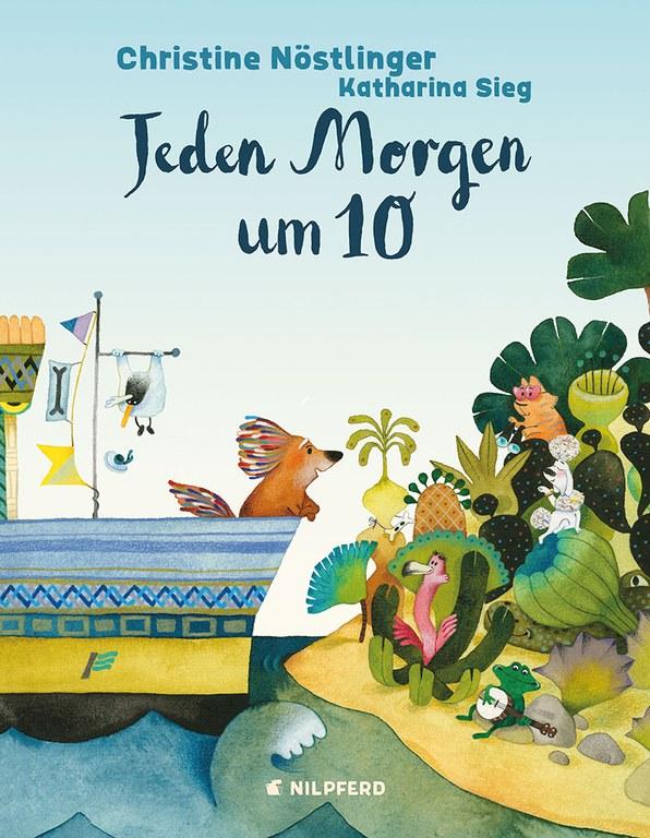 "Bilderbuchkino: Christine Nöstlinger ""Jeden Morgen um 10"" © G&G Verlag"