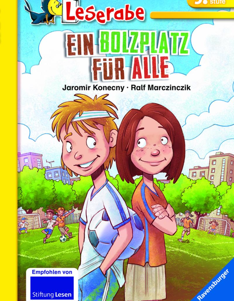 Lesung: Ein Bolzplatz für alle © Ravensburger