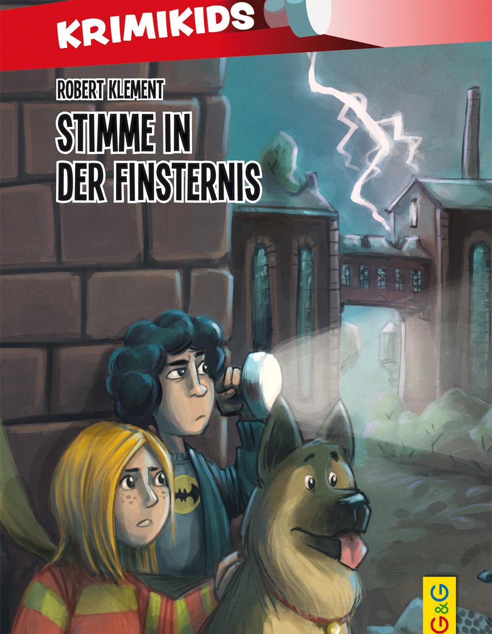 Lesung: Krimikids - Stimme in der Finsternis © G&G-Verlag