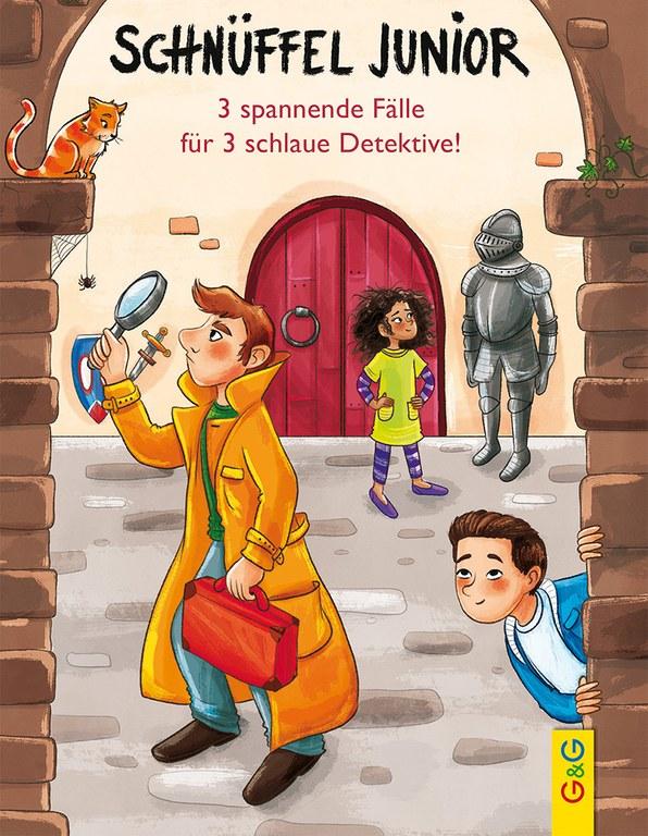 Lesung: Schnüffel junior. Knifflige Ratekrimis für clevere Detektive © G&G Verlag