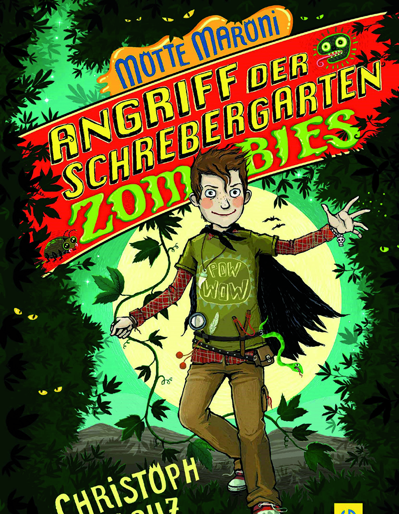 Lesung: Von Schrebergartenzombies & Bussibären © G&G Verlag