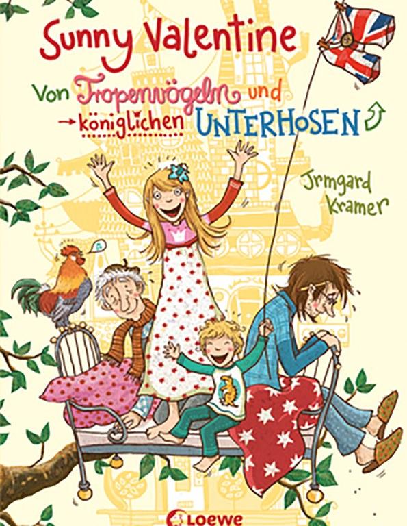 Lesung: Sunny Valentine – von Tropenvögeln und königlichen Unterhosen © Loewe