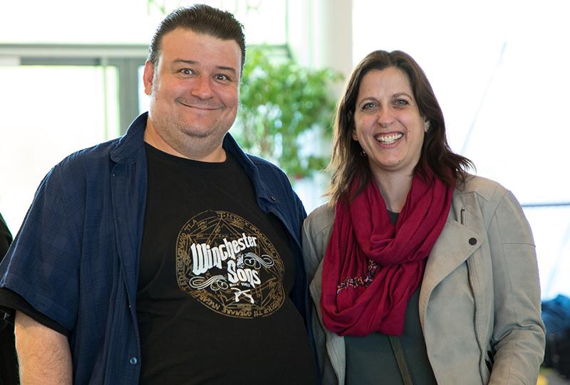 Christoph Mauz (Intendant) und Monika Schaar-Willomitzer (Organisation) © NÖ Museum Betriebs GmbH, Foto: Daniel Hinterramskogler